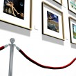 Art gallery — Stock Photo