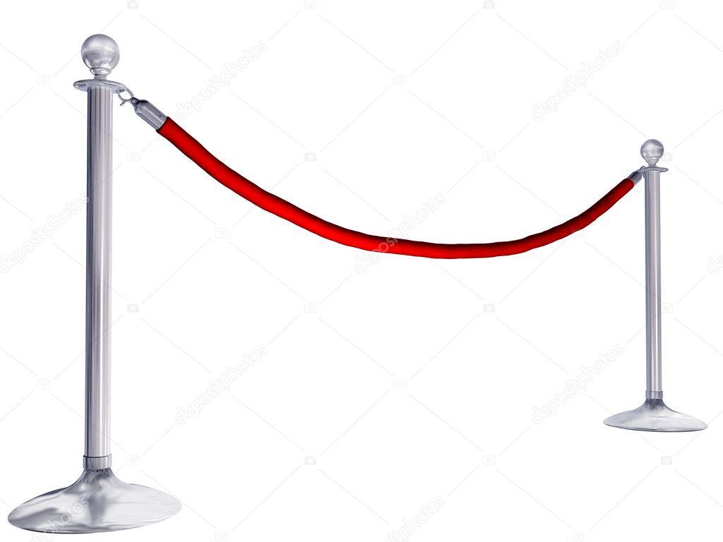 Velvet rope — Stock Photo © paulfleet #5481034