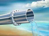 饮用纯净水 — 图库照片