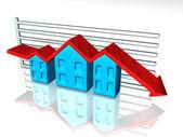 Mercado de la vivienda — Foto de Stock