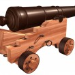 Ships Cannon — Stockfoto