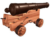 Ships Cannon — Stock Photo