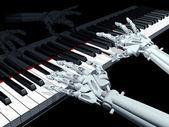 Computer music — Stock Photo