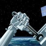 Uzay İstasyonu bakım — Stok fotoğraf
