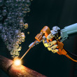 Deep sea maintenance - Stockfoto