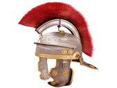 Isolated Roman Helmet — Stock Photo