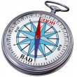 Royalty-Free Stock Photo: Moral compass