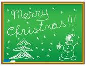 メリー クリスマスのお祝い — ストックベクタ