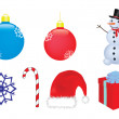 Stock Vector: Christmas vector clip-art