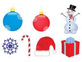 Christmas vector clip-art — Stock Vector