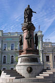 Monument in Odessa — Stock Photo
