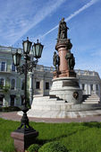 Monument to Catherine II — Stockfoto