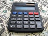 Calculating income — Stock Photo