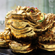 Stock Photo: Fengshui money frog