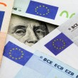 Euro vs dollars — Stock Photo #6453088
