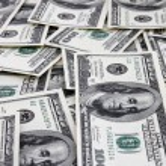 Cash background — Stock Photo