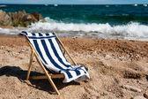 Plaj sandalyesi — Stok fotoğraf