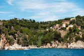 Апартаменты на побережье Испании — Стоковое фото