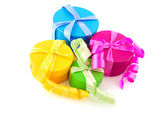 Colorful presents — Stock fotografie