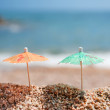 Shade at the beach — Stock Photo