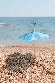 Shade at the beach — Stock Photo