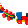 Wooden toy train — Stock Photo #5739793