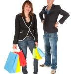 Shopping dilemma — Stock Photo