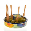 Green olives — Stock Photo #6488218