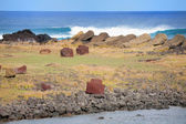 Landscape Easter island — Stock Photo