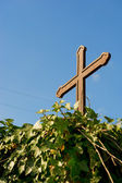 Simple French cross — Stock Photo