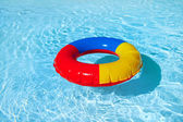 Toy swimming tire — 图库照片