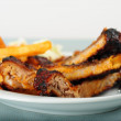 Barbecued Ribs — Stock Photo