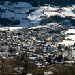 An Austrian Winter Scene — Stock Photo