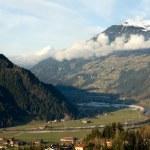 Alpine Valley, Austria — Stock Photo