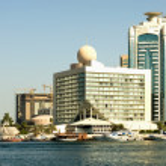 Modern Buildings, Dubai, United Arab Emirates — Stock Photo #5916090