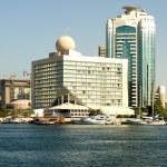 Modern Buildings, Dubai, United Arab Emirates — Stock Photo #5916376