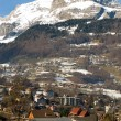 Stock Photo: Alpine Town, France