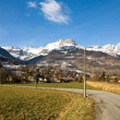 Alpine Town, France — Stock Photo #5917467