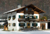 Alpine Chalet — Stock Photo