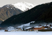 Austrian Winter Scene — Stock Photo