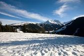 Une scène d'hiver autrichienne — Photo
