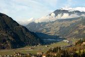 альпийская долина, австрия — Стоковое фото