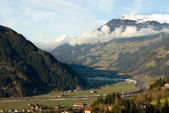 Alpine Valley, Austria — Stock Photo