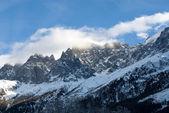 Rozeklané hory, francie — Stock fotografie