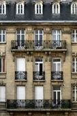 Budynek mieszkalny, reims, Francja — Zdjęcie stockowe