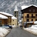 Alpine Village, Italy — Stock Photo #5920568