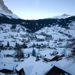 Grindelwald at Dawn — Stock Photo