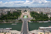 Paris From Above — Stock Photo