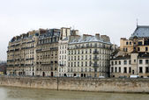 Apartment Buildings, Paris, France — Stock Photo
