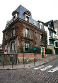 House on a Corner, Paris, France — Stock Photo